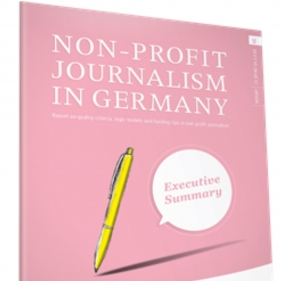 New report on the state of non-profit journalism in Germany